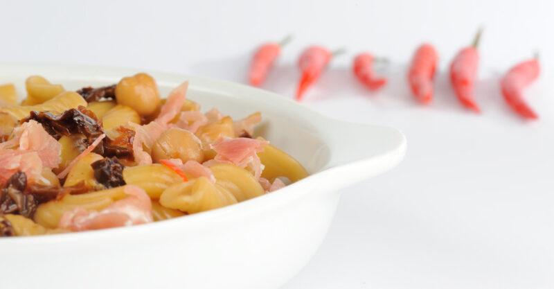 one pot pasta mit kichererbsen